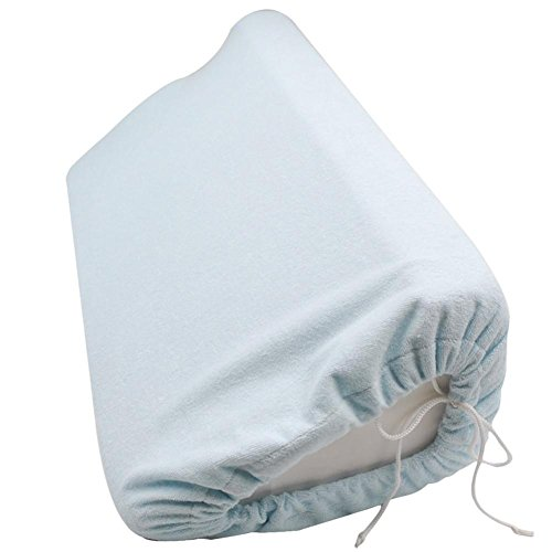 Bedsore Position Pad Side Pillow With Waterproof Outer Layer (Sky Blue) For Long Bed Rest Patients And The Elderly (Bed Rail Wedge Pads)