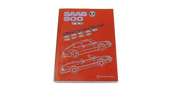 Amazon.com: Saab 900 900s Turbo SPG Convertible 16V 1985-1993 Service Repair Manual Bentley: Automotive