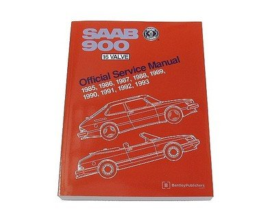 Used, Saab 900 900s Turbo SPG Convertible 16V 1985-1993 Service for sale  Delivered anywhere in USA