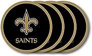 NFL New Orleans Saints Vinyl Coaster Set (Pack of 4)