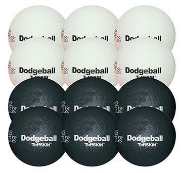 TuffSKIN 6'' Foam Dodgeball Pack by Palos Sports