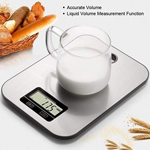 ASDF Bilance Cucina Digitali, Bilance Elettroniche Cucina Appendere con Design Ultra Sottile, Bilancia per Pesatura Accurata con Display LCD