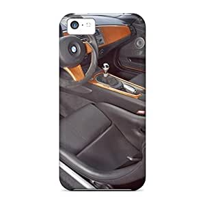 New Arrival Cover Case With Nice Design For Iphone 5c- Orange Bmw Ac Schnitzer V8 Topster Interior by icecream design