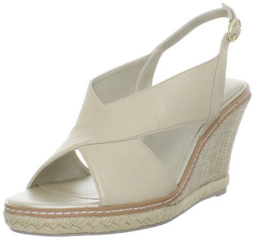 Anne Klein Espadrilles (AK Anne Klein Women's David Wedge Sandal,Light Gold,8.5 M)