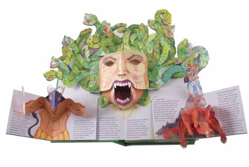 Encyclopedia Mythologica: Dragons and Monsters Pop-Up by Candlewick Press (Image #2)