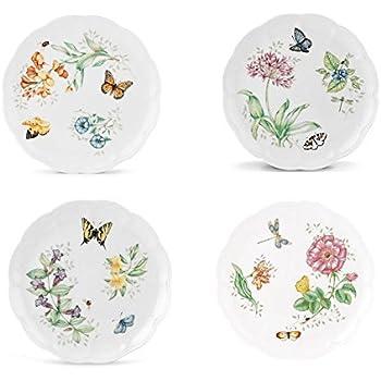 Lenox Butterfly Meadow Dinner Plate Assorted 4p set