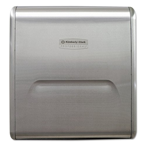 - Kimberly-Clark Professional 31498 MOD Recessed Dispenser Narrow Housing, Stainless Steel