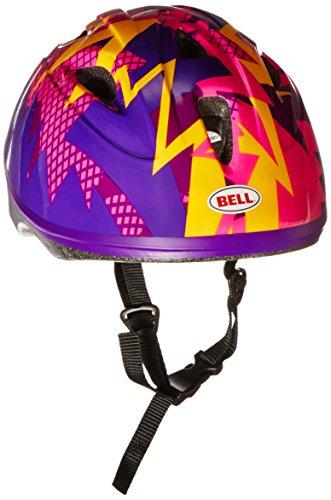 Bell Toddler Zoomer Bike Helmet, Purple - Bells Shopping