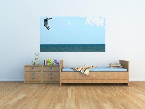 "Kiteboard - 36""W x 26""H - Peel and Stick Wall Decal by Wallmonkeys"