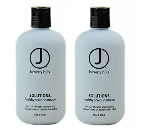 J Beverly Hills Solutions Healthy Scalp Shampoo - 350ml/12oz (Set of 2 (12 - In Singapore Sun Set