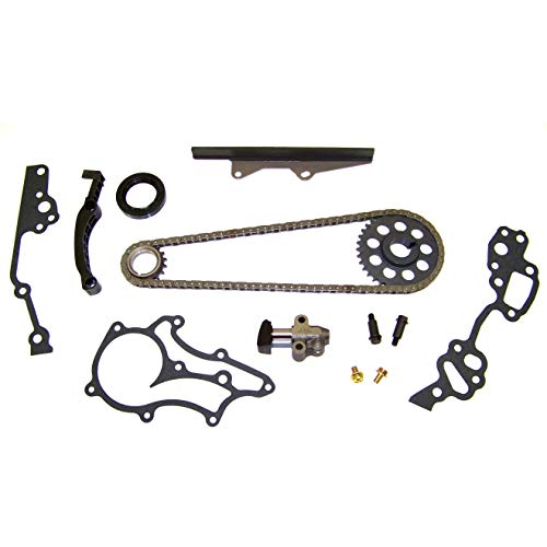 DNJ TK900HD Timing Chain Kit for 1985-1995 / Toyota / 4Runner, Celica, Pickup / 2.4L / SOHC / L4 / 8V / 2366cc / 22R, 22RE, 22REC, 22RTEC ()