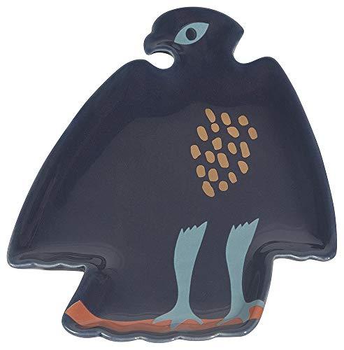 Danica Studio Ceramic Bath Tray, Eagle Shaped (Eagles Paper Clip Holder)
