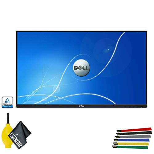 Dell P2219H 21.5-Inch 16:9 Ultrathin Bezel IPS Monitor No Stand (P2219HNS) - 1 Pack - with Wire Straps, Dust Blower, and Microfiber Cloth (1 - Pack) -  P2219H_EDIMA_109