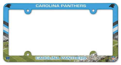 NFL Carolina Panthers License Plate with Full Color - Place Carolina Stores