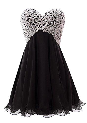 next black bead dress - 4