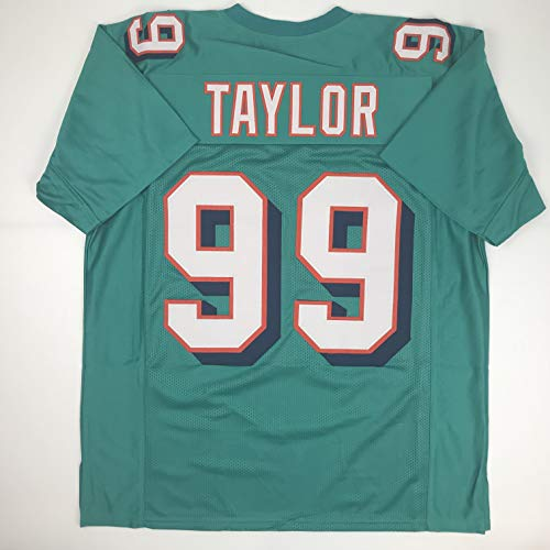 Unsigned Jason Taylor Miami Green Custom Stitched Football Jersey Size XL New No Brands/Logos
