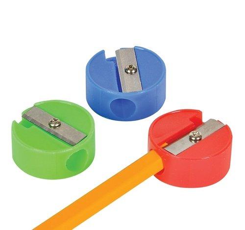 1'' Plain Pencil Sharpener, Case of 50 by DollarItemDirect (Image #1)