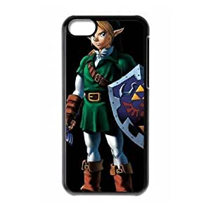 Durable Rubber Cases iPhone 5C Cell Phone Case Black Hqjyj The Legend of Zelda Protection Cover
