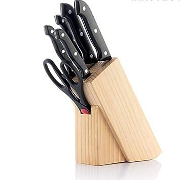 Eurowebb - Juego de 6 Cuchillos con Cuchillas de Acero ...