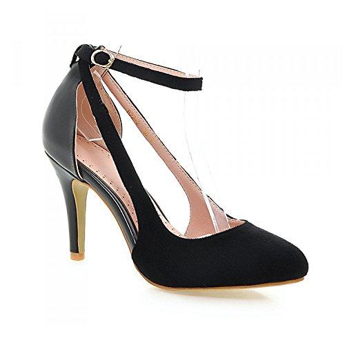 Eclimb Womens Classic Side Hollow Fashion Pointed Toe High Heel Dress Pumps Black zFtXy