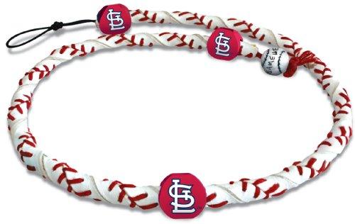 Louis Cardinals Classic Baseball (MLB St. Louis Cardinals Classic Frozen Rope Baseball Necklace)