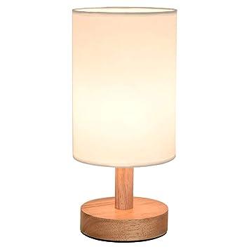 Lámpara de Mesa Dormitorio nórdico Minimalista lámpara de ...