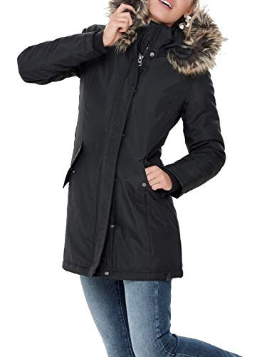 Parka Cc black Otw Donna Coat Only Onlkaty Black Nero qtRP65