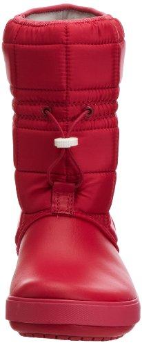 Crocs CrocbandTM II.5 Winter Boot Women - Botas de nieve, color: Blanco Rosa (Pink (Raspberry/White 604))