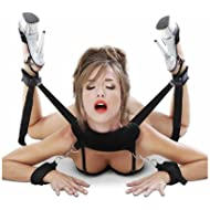 BDSMS Restraints Kit Wrist Thigh Leg Restraint System Hand & Ankle Cuff Bed Restraints Sex Bondage Position Support Sling
