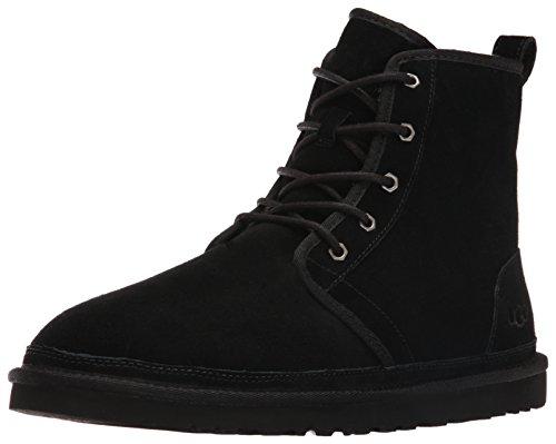 UGG Men's Harkley Winter Boot, Black, 11 M US (Mens Black Ugg Boots)