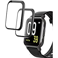 smaate 3D Screen Protector Compatible with Soundpeats Watch 1, 2-Pack, Full Coverage, Curved Edge frame, Anti-Scratch…