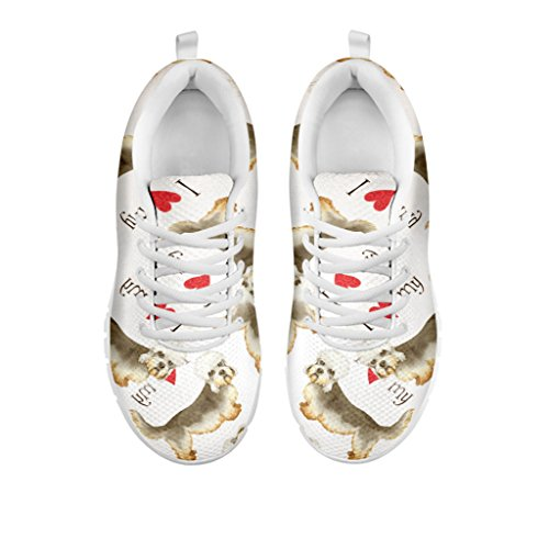 Choose Running Dandie Pattern Breed Dinmont Your Print Dog Shoes All Shoetup Women's Terrier Women's Sneakers 0xzF7RA