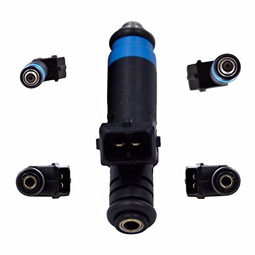 8pcs Fuel Injectors for Siemens Deka 80 LB High Impedance EV1 110324 FI114992 ()