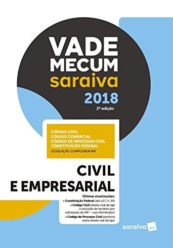 Vade Mecum Saraiva 2018. Civil e Empresarial