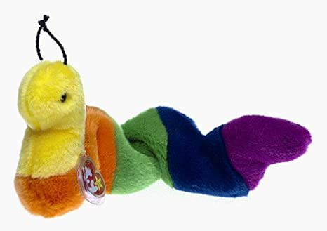 2321a7e3933 Amazon.com  TY Beanie Buddy - Inch the Worm by Ty  Toys   Games