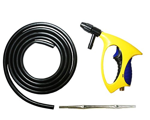 Sand Blaster Nozzle Gun Equipment With 10 ft Siphon Blasting Tube. By Lematec Air Tool Accessories (FIG05)