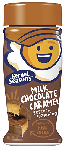 Kernel Season's Popcorn Seasoning, Milk Chocolate Caramel, 3.0 Ounce (Pack of 6)