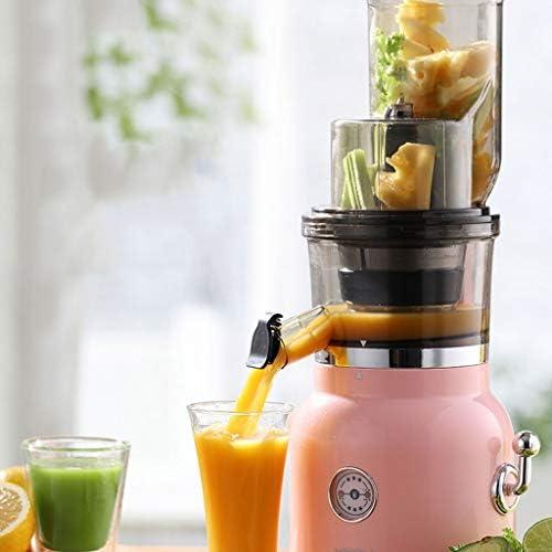 Zxb-shop Exprimidor Exprimidor de la máquina Grande de la Boca Grande Feedchute fácil de Limpiar Familia Blender exprimidor de Fruta