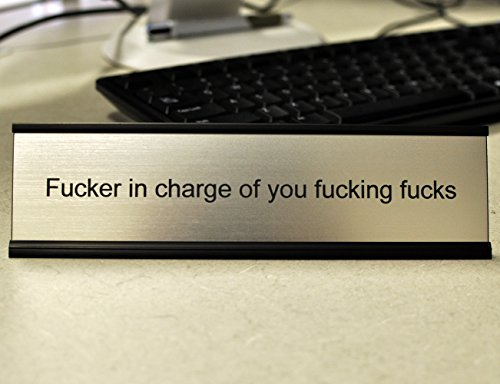 Funny Desk Plate For Boss Gag Gift Kitchen In The Uae