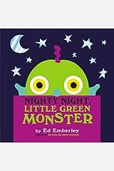 Nighty Night, Little Green Monster Hardcover
