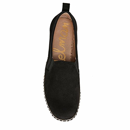 M Sam Edelman Ons 10 Kid Black Suede Women's Leather US Carrin Slip Women Black 0BxqZg0w