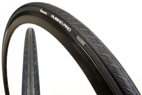 Vittoria Rubino Pro G+ Bike Tires, Full Black, 700cmx19/23
