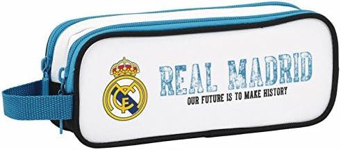 Real Madrid - Estuche portatodo Doble, equipación 2017/2018 (SAFTA 811754513): Amazon.es: Juguetes y juegos