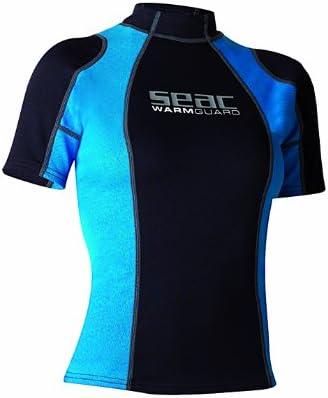 SEAC Warm Guard Short Donna Maglia Protettiva Termica in Neoprene da 0,5 mm Rash Guard per Snorkeling e Nuoto Anti UV