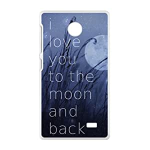 Artworks on Metal Phone Case for Nokia Lumia X Case