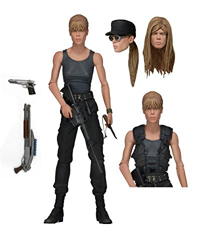 Terminator 2 Ultimate Sarah Connor Action Figure NECA