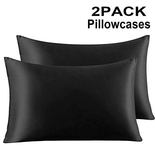 Which are the best zipper pillow cases standard size black available in 2019?
