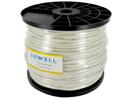 (Sewell 14 AWG Speaker Wire, 500 ft. Spool, Oxygen Free Copper)