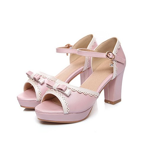 Inconnu Rose Ouvert Bout 1TO9 Femme ZSq87fw