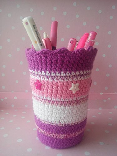 Portalápices a crochet.: Amazon.es: Handmade